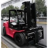 2019 HANGCHA XF-70 15500 LB FORKLIFT DIESEL PNEUMATIC 110/177 3 STAGE MAST SIDE SHIFTER FORK POSITIONER STOCK # BF9486169-649-BUF