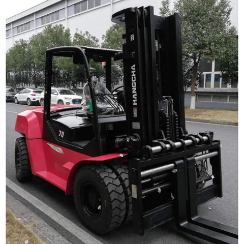 2020 HANGCHA XF-70 15500 LB FORKLIFT DIESEL PNEUMATIC 110/177 3 STAGE MAST SIDE SHIFTER FORK POSITIONER STOCK # BF9486169-649-BUF - United Lift Used & New Forklift Telehandler Scissor Lift Boomlift