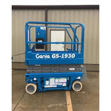 2001 GENIE GS1930 SCISSOR LIFT 19' REACH ELECTRIC 2791 HOURS STOCK # 5838-495185-ARB - united-lift-equipment