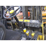 1990 CLARK GCX30 6000 LB LP GAS FORKLIFT CUSHION 84/186 3 STAGE MAST SIDE SHIFTER 5661 HOURS STOCK # BF2020-DPKN - united-lift-equipment