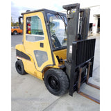 2003 CATERPILLAR P6000D 6000 LB DIESEL FORKLIFT PNEUMATIC 84/129 2 STAGE MAST SIDE SHIFTER 4218 HOURS STOCK # 21216-NCB - Buffalo Forklift LLC