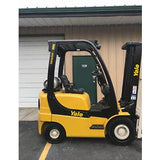 2006 YALE GLP040 4000 LB LP GAS FORKLIFT PNEUMATIC 84/130 2 STAGE MAST STOCK # 8498-02320D-ARB
