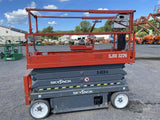 2014 SKYJACK SJ3226 SCISSOR LIFT 26' REACH ELECTRIC SMOOTH CUSHION TIRES 181 HOURS STOCK # BF982099-BATNY - United Lift Used & New Forklift Telehandler Scissor Lift Boomlift