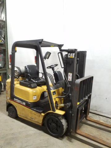 2001 CATERPILLAR GC20 forklift for sale 6000 LB Capacity