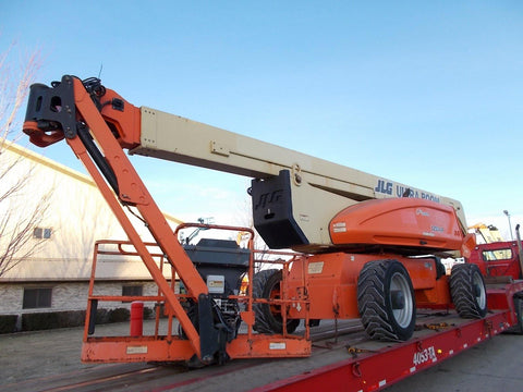 2006 JLG 1250AJP ARTICULATING BOOM LIFT AERIAL LIFT WITH JIB ARM 125' REACH DIESEL 4WD 1001 HOURS STOCK # BF924092-RIL