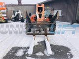 2008 JLG G10-55A 10000 LB DIESEL TELESCOPIC FORKLIFT TELEHANDLER PNEUMATIC 4WD ENCLOSED CAB 3980 HOURS STOCK # BF9494579-BATNY