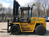 "1997 HYSTER H190XL 19000 LB DIESEL FORKLIFT PNEUMATIC 144/187"" 2 STAGE MAST DUAL TIRES SIDE SHIFTER 4870 HOURS STOCK # BF9275019-RHWI - United Lift Used & New Forklift Telehandler Scissor Lift Boomlift"
