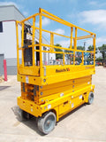 2016 HAULOTTE 2632E SCISSOR LIFT 26' REACH ELECTRIC CUSHION 231 HOURS STOCK # BF924435-RIL