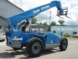 2013 GENIE GTH844 8000 LB DIESEL TELESCOPIC FORKLIFT TELEHANDLER PNEUMATIC 4WD AUXILIARY HYDRAULICS 2300 HOURS STOCK # BF923009-EEMI - United Lift Used & New Forklift Telehandler Scissor Lift Boomlift