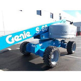 2007 GENIE S60 STRAIGHT BOOM LIFT AERIAL LIFT 60' REACH DIESEL 4WD 716 HOURS STOCK # BF750028-RIL