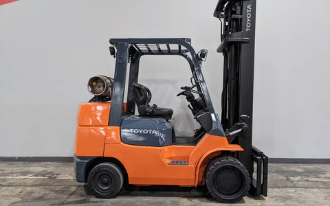 "2009 TOYOTA 7FGCU35 8000 LB LP GAS FORKLIFT CUSHION 105/238"" 3 STAGE MAST STOCK # BF9134419-ILIL - United Lift Used & New Forklift Telehandler Scissor Lift Boomlift"
