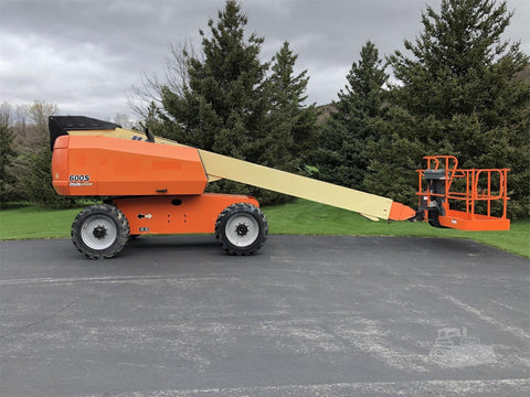 2014 JLG 600S STRAIGHT BOOM LIFT AERIAL LIFT 60' REACH DIESEL 4WD 1993 HOURS STOCK # BF9661599-ISNY