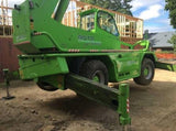 2014 MERLO 40.30-MCSS 8820 LB DIESEL TELESCOPIC FORKLIFT TELEHANDLER PNEUMATIC OUTRIGGERS ENCLOSED CAB 820 HOURS STOCK # BF91992119-NLEQ - United Lift Used & New Forklift Telehandler Scissor Lift Boomlift