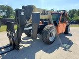2012 JLG G12-55A 12000 LB DIESEL TELESCOPIC FORKLIFT TELEHANDLER PNEUMATIC 4WD ENCLOSED CAB 3180 HOURS STOCK # BF9015019-RIL - United Lift Used & New Forklift Telehandler Scissor Lift Boomlift