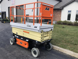 2020 JLG 3246ES SCISSOR LIFT 32' REACH ELECTRIC SMOOTH CUSHION TIRES BRAND NEW STOCK # BF9163239-ISNY - United Lift Used & New Forklift Telehandler Scissor Lift Boomlift