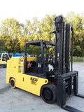 "2015 RICO PG300 30000 LB LP GAS FORKLIFT CUSHION 132/144"" 2 STAGE MAST SIDE SHIFTING FORK POSITIONER 4453 HOURS STOCK # BF9231399-NCB"