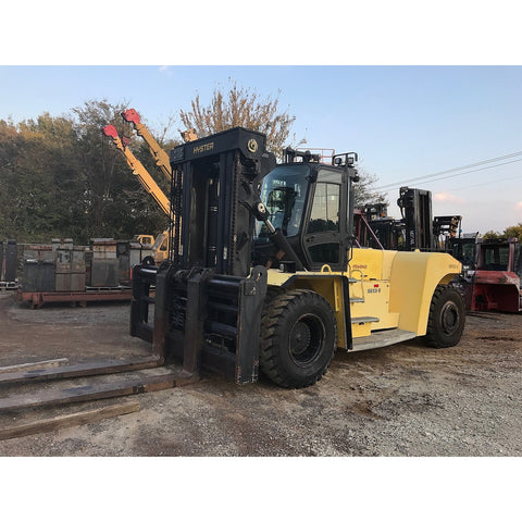 "2011 HYSTER H550HD 55000 LB CAPACITY DIESEL FORKLIFT PNEUMATIC 124"" 2 STAGE MAST SIDE SHIFTER FORK POSITIONER ONLY 1750 HOURS STOCK # BF92597399-2959-TX **OWN FOR ONLY $5708 PER MONTH** - United Lift Used & New Forklift Telehandler Scissor Lift Boomlift"