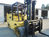"1999 HOIST FKS20 40000 LB LPG FORKLIFT CUSHION 107/100"" MAST SIDE SHIFTING FORK POSITIONER 780 HOURS STOCK # BF97989-DIENC"