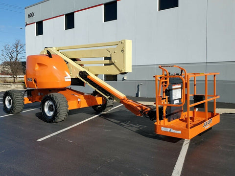 2013 JLG 450A ARTICULATING BOOM LIFT AERIAL LIFT 45' REACH DIESEL 4WD 1865 HOURS STOCK # BF9890919-RIL - United Lift Used & New Forklift Telehandler Scissor Lift Boomlift