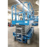 2008 GENIE GS3246 SCISSOR LIFT 32' REACH ELECTRIC SMOOTH CUSHION TIRES STOCK # BF94657-DPA