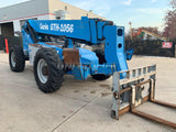 2011 GENIE GTH1056 10000 LB DIESEL TELESCOPIC FORKLIFT TELEHANDLER PNEUMATIC 4WD 3101 HOURS STOCK # BF9248799-RIL