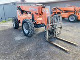 2008 SKYTRAK 8042 8000 LB DIESEL TELESCOPIC FORKLIFT TELEHANDLER PNEUMATIC 4WD ENCLOSED CAB 5976 HOURS STOCK # BF9393079-BATNY - United Lift Used & New Forklift Telehandler Scissor Lift Boomlift