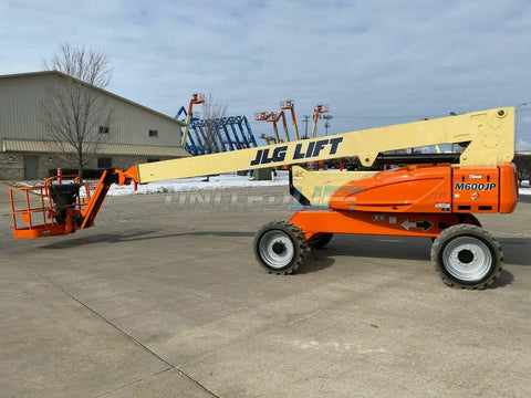 2011 JLG M600JP TELESCOPIC BOOM LIFT AERIAL LIFT 60' REACH DUAL FUEL 4WD 887 HOURS STOCK # BF9471919-RIL