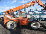 2011 SKYTRAK 10054 10000 LB DIESEL TELESCOPIC FORKLIFT TELEHANDLER PNEUMATIC 4WD ENCLOSED HEATED CAB 2890 HOURS STOCK # BF9665189-HLNY - United Lift Used & New Forklift Telehandler Scissor Lift Boomlift
