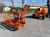 2011 JLG 800AJ TELESCOPIC ARTICULATING BOOM LIFT AERIAL LIFT WITH JIB ARM 80' REACH DIESEL 4WD 2533 HOURS STOCK # BF9493659-BATNY - United Lift Used & New Forklift Telehandler Scissor Lift Boomlift