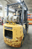 2006 DOOSAN GC30P-3 5000 LB LP GAS FORKLIFT CUSHION 84/186 3 STAGE MAST SIDE SHIFTER 7028 HOURS STOCK # BF9562930-DPA - united-lift-equipment