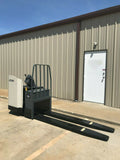 2013 CROWN PR4500-80 8000 LB ELECTRIC WALKIE PALLET JACK CUSHION 4155 HOURS STOCK # BF947089-ARB