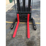 2005 RAYMOND RSS40 4000 LB ELECTRIC FORKLIFT WALKIE STACKER CUSHION SIDE SHIFTER 2968 HOURS STOCK # 5567-644257-ARB - united-lift-equipment