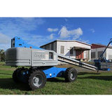 2008 GENIE S-80 TELESCOPIC BOOM LIFT AERIAL LIFT 80' REACH DIESEL 4WD 4107 HOURS STOCK # BF54340-DPA