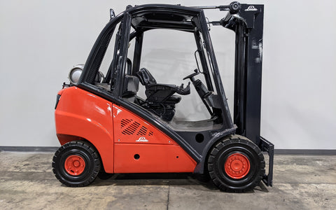 "2012 LINDE H30T 6000 LB LP GAS FORKLIFT PNEUMATIC 89/189"" 3 STAGE MAST SIDE SHIFTER STOCK # BF9190239-ILIL - United Lift Equipment LLC"