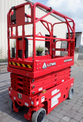 2020 LGMG AS1932E SCISSOR LIFT 19' REACH ELECTRIC SMOOTH CUSHION TIRES BRAND NEW STOCK # BF9102559-NLEQ - United Lift Used & New Forklift Telehandler Scissor Lift Boomlift
