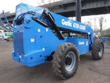 2014 GENIE GTH1056 10000 LB DIESEL TELESCOPIC FORKLIFT TELEHANDLER PNEUMATIC 4WD 2490 HOURS STOCK # BF9641549-NLEQ - United Lift Used & New Forklift Telehandler Scissor Lift Boomlift
