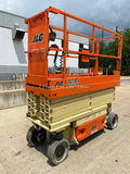 2015 JLG 2632ES SCISSOR LIFT 500 LB 26' REACH ELECTRIC WITH DECK EXTENSION 155 HOURS STOCK # BF9252679-RIL