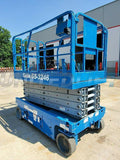2011 GENIE GS3246 SCISSOR LIFT 32' REACH ELECTRIC SMOOTH CUSHION TIRES 258 HOURS STOCK # BF9418449-RIL
