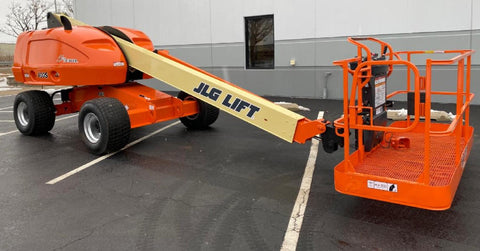 2014 JLG 400S TELESCOPIC STRAIGHT BOOM LIFT AERIAL LIFT 40' REACH DIESEL 4WD 2830 HOURS STOCK # BF9392559-NLEQ - United Lift Used & New Forklift Telehandler Scissor Lift Boomlift