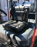"2016 TOYOTA 8FGCU25 5000 LB LP GAS FORKLIFT CUSHION 189"" 3 STAGE MAST SIDE SHIFTER 4297 HOURS STOCK # BF9758509-MWWI - United Lift Used & New Forklift Telehandler Scissor Lift Boomlift"