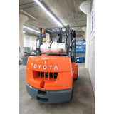 2005 TOYOTA 7FGCU45 10000 LB LP GAS FORKLIFT CUSHION 92/187 3 STAGE MAST SIDE SHIFTER 8215 HOURS STOCK # BF98757-DPA - united-lift-equipment