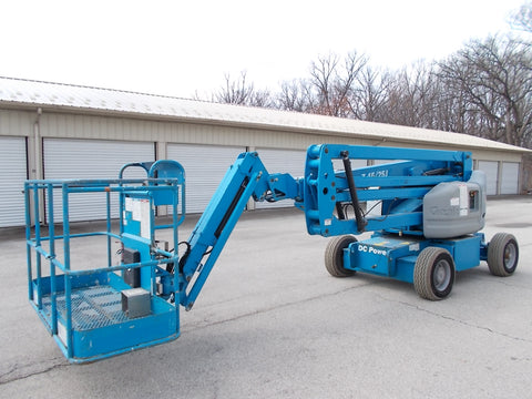 2011 GENIE Z-45/25J 500 LBS ELECTRIC 45 FT. PNEUMATIC ARTICULATING BOOM LIFT 825 HOURS STK# BF950018-RIL