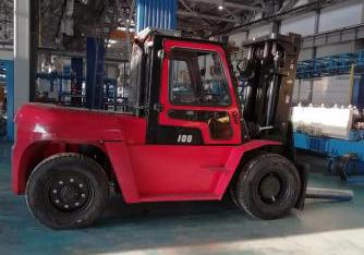2019 HANGCHA XF-120 25000 LB FORKLIFT DIESEL PNEUMATIC 118/141 2 STAGE MAST SIDE SHIFTER STOCK # BF99124159-PENC - united-lift-equipment