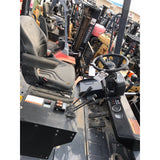 2015 TOYOTA 50-4FD120 26,000 LB DIESEL FORKLIFT PNEUMATIC 148 2 STAGE MAST SIDE SHIFTER DUAL TIRES 1650 HOURS STOCK # BF995769-1399-MYRTX