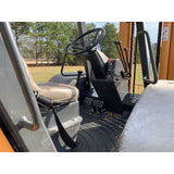 2012 CASE 588H 8000 LB DIESEL ROUGH TERRAIN 4WD FORKLIFT 125/264 3 STAGE MAST PNEUMATIC SIDE SHIFTER 3021 HOURS STOCK # BF93799-ESLA