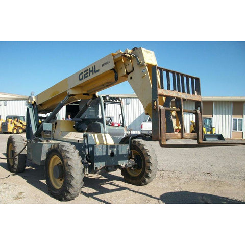2008 GEHL RS8-42 8000 LB DIESEL TELESCOPIC FORKLIFT TELEHANDLER PNEUMATIC 4WD 4049 HOURS STOCK # BF9336949-PEMN - United Lift Used & New Forklift Telehandler Scissor Lift Boomlift