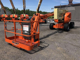 2010 JLG 450AJ ARTICULATING BOOM LIFT AERIAL LIFT WITH JIB ARM 45' REACH DIESEL 4WD 2211 HOURS STOCK # BF9320349-BATNY