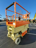2019 JLG 3246ES SCISSOR LIFT 32' REACH ELECTRIC SMOOTH CUSHION TIRES BRAND NEW STOCK # BF9952359-RIL - United Lift Used & New Forklift Telehandler Scissor Lift Boomlift