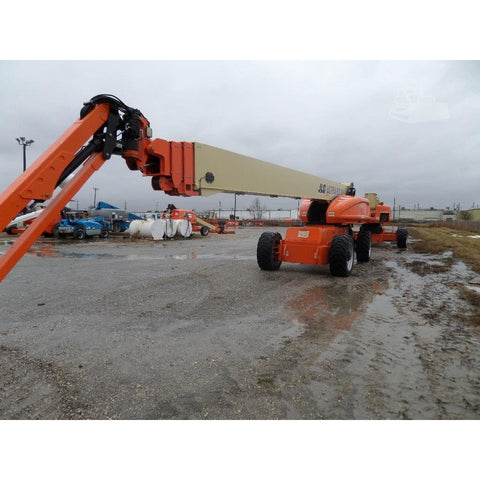 2007 JLG 1350SJP TELESCOPIC BOOM LIFT AERIAL LIFT 135' REACH DIESEL 4WD 2449 HOURS STOCK # BF973109-FILB - united-lift-equipment
