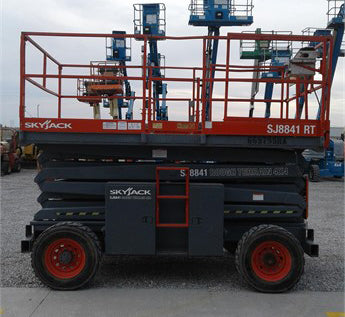 2006 SKYJACK SJ8841RT SCISSOR LIFT 41' REACH DIESEL ROUGH TERRAIN 3510 HOURS STOCK # BF9173899-CEIL - United Lift Used & New Forklift Telehandler Scissor Lift Boomlift